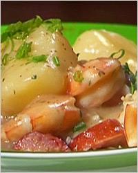 Картофель, тушёный по-английски