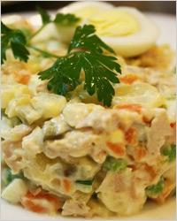 Вкусный салат из языка
