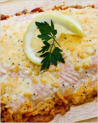 Рыба в соусе с майонезом