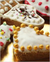 Медовое печенье со специями «Новогодние колокольчики»
