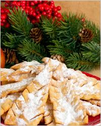 Новогоднее печенье «Еловые шишечки»