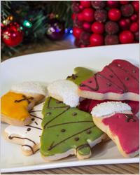 Миндальное печенье «Новогоднее желание»