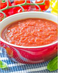 Томатный соус со сливочным сыром