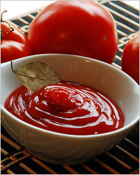 Простой соус из томатной пасты