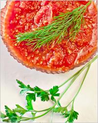 Томатный соус со сметаной