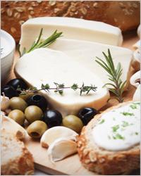 сыр, оливки