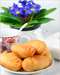 Пироги с чаем