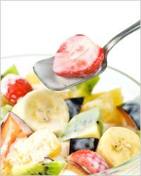 Как сделать фруктовый салат с йогуртом 119