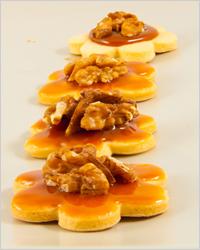 карамельное печенье