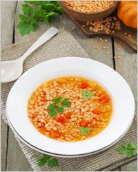 суп с чечевицой