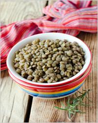 зерно чечевицы
