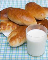 пирожки с молоком