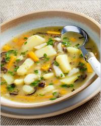 Постные блюда без масла - картофельный суп