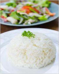 Рис в мультиварке - гарнир из круглозерного риса