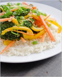 рис с брокколи