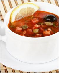солянка с оливками