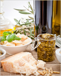 Песто из зелени и пармезана – кулинарный рецепт