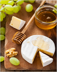 сыр с медом