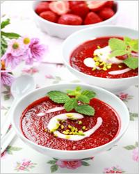 суп из клубники