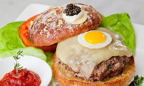 самый дорогой гамбургер