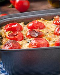 Помидоры запеченные с сыром - рецепт пошаговый с фото