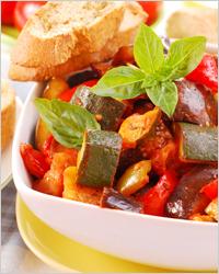 Блюда французской кухни - рататуй