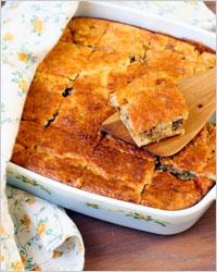 кусочки пирога с мясом