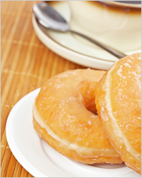Donuts for tea