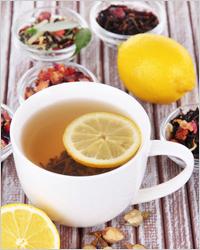 Свойства чая - чай с лимоном