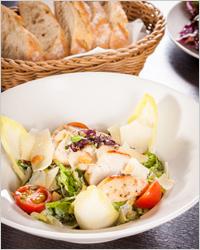 Салат с курицей - Новогоднее меню
