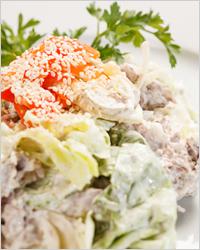 Салат с куриным филе - Что приготовить на Новый год