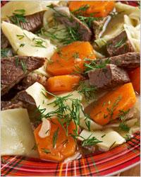Как приготовить бешбармак - Бешбармак из говядины