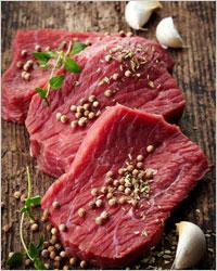 Мясо с приправами - Как приготовить бешбармак