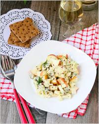 Салат с яблоком - Простые рецепты на каждый день