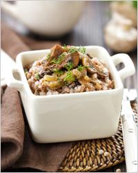 Гречневая каша с грибами - Простые рецепты на каждый день