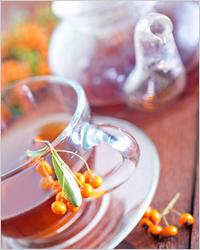 Чай с желтым боярышником