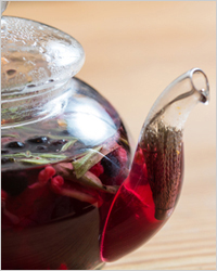 Чай с цветами боярышника