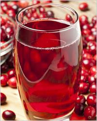 Клюквенный сок - Ягоды для похудения