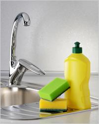 Домашние средства для мытья посуды
