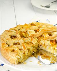 Пирог с капустой - Постные пироги
