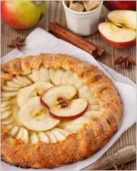Яблочный пирог - Постные пироги