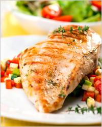 Куриное филе с овощами - Что приготовить из куриного филе