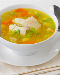 Супы из рыбных консервов