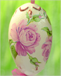 Декупаж пасхальных яиц – Пасхальные яйца