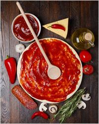 Начинки и тесто для пиццы