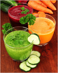Овощные коктейли для похудения