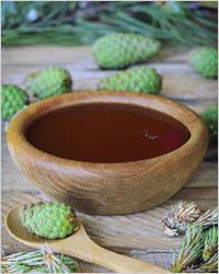 Варенье из зеленых шишек