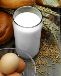 Яйца, молоко