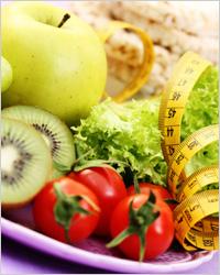 Яблоки, фрукты - Диета для похудения живота