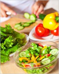 Овощная диета - Диета для похудения живота